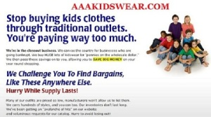 Name-Brand Children Clothing 50%-70% Off Retail